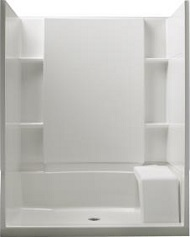 Sterling - Accord® Complete Seated Walk-In Shower Features