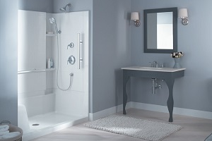 Sterling - Accord® Complete Seated Walk-In Shower