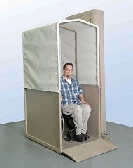Bruno - Vertical Platform Wheelchair Lift Options