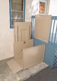 Bruno - Vertical Platform Wheelchair Lifts
