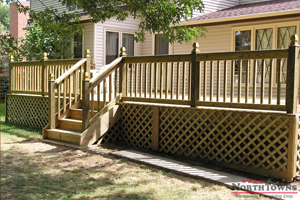 CertainTeed - Pressure Treated Wood Railings