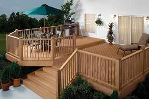 CertainTeed - Wood Plastic Composite Railings