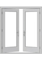 Pella - Hinged Patio Doors