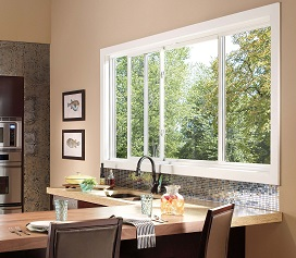 Pella - Sliding Impervia Fiberglass Window