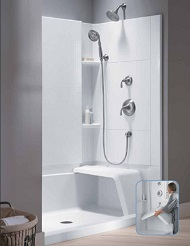 Sterling Accord Complete Seated Walk In Shower